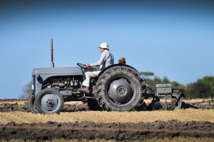 Laughton and District Agricultural Society's ploughing match 2019. Photograph: Justin Lycett/ SUS-190918-142707001