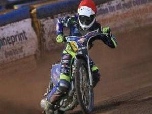 Georgie Wood will return for the Eastbourne Eagles' final match of the season after serving a 28-day suspension. Picture by Mike Hinves