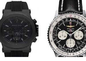 Two of the watches stolen during a burglary in Ivinghoe Aston