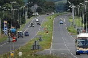 Cookstown-Moneymore dual carriageway.