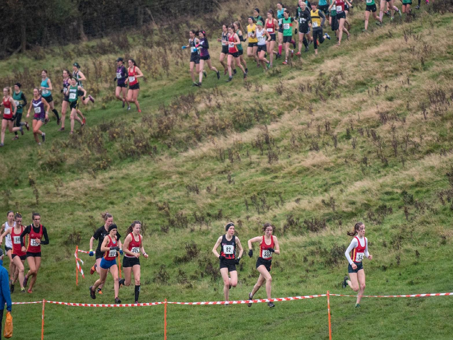 Lou Smith captures the action at Burton Dassett Country Park.