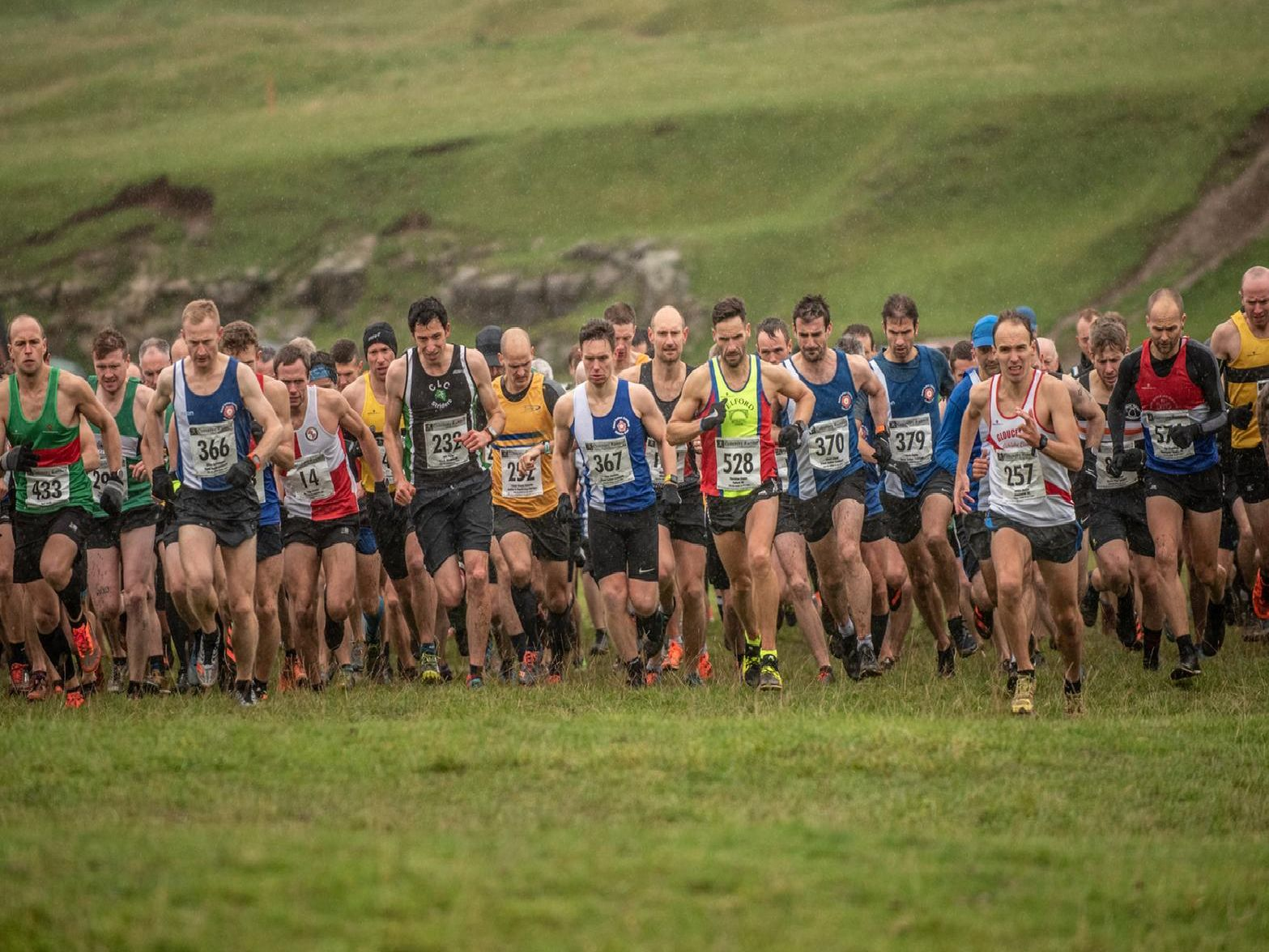 Lou Smith captures the action from Burton Dassett Hills Country Park.