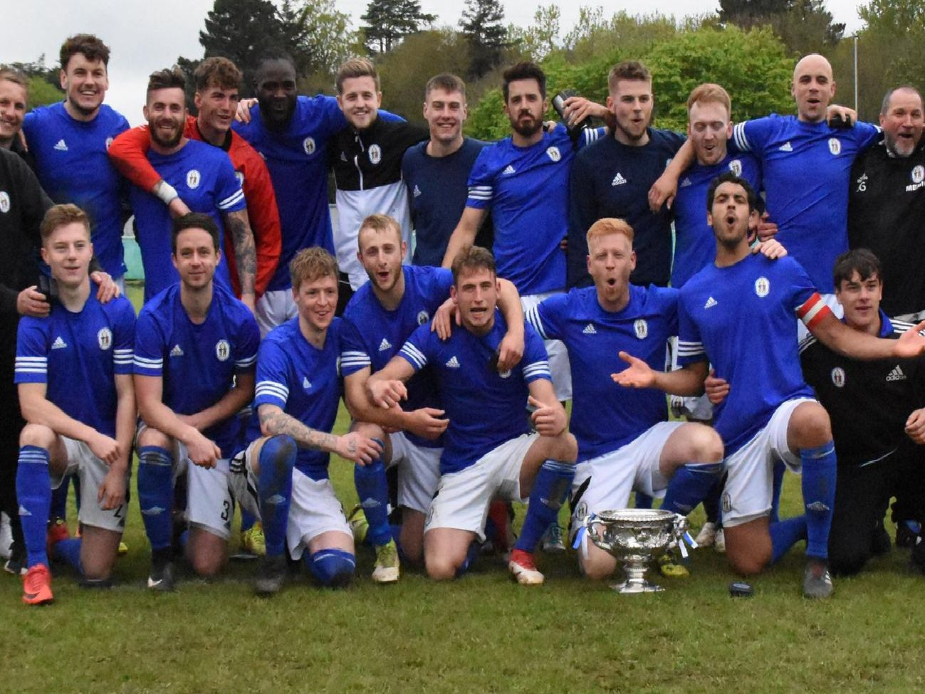 Haywards Heath Town won the double this year - the SCFL Premier and the Peter Bentley Challenge Cup. Picture by Grahame Lehkyj