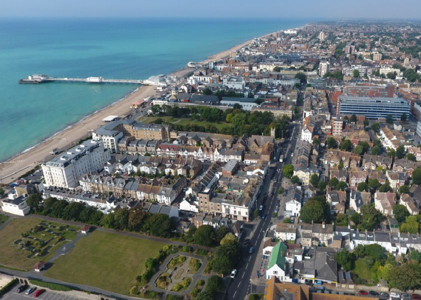 Worthing's high street continues to thrive despite changes