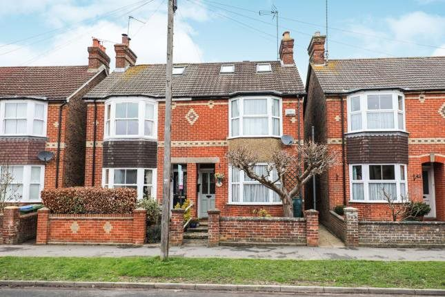 This light and spacious four bedroom semi-detached house has been extended over three floors and is on the market for offers over 450,000.