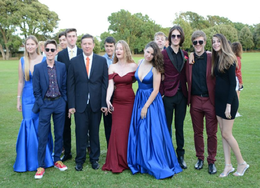 The Leavers' Prom at Shoreham College was a gorgeous evening
