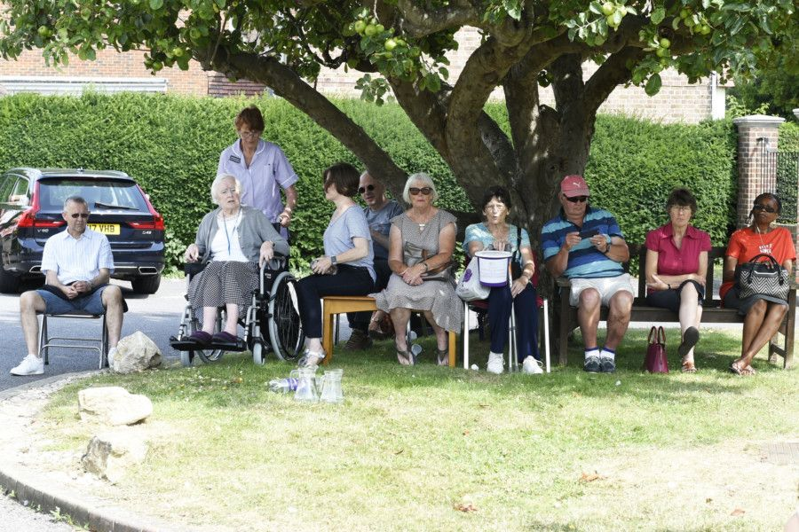 Rustington Hall 70th Anniversary Fete''Rustington Hall and Oakhurst Gardens celebrate'their 70th anniversary.''''Rustington, West Sussex.''Picture Liz Pearce ''13/07/2019''LP190800 SUS-190714-221052008
