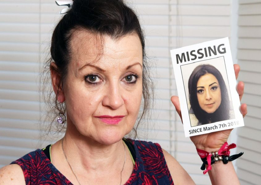 DM1865196a.jpg Georgina Gharsallah's mum Andrea appeals for her to come home. Photo by Derek Martin Photography. SUS-180625-164717008