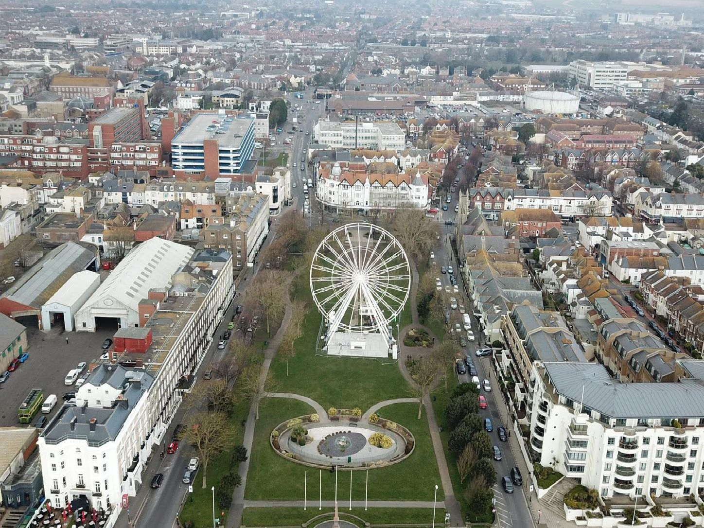 The so-called 'Worthing Wheel' which arrived over the Easter period proved a big hit with residents, despite the bad weather - and readers could not get enough of footage of the attraction taken by a drone. The wheel was so successful, in fact, that it could be coming back to Worthing seafront for three years.