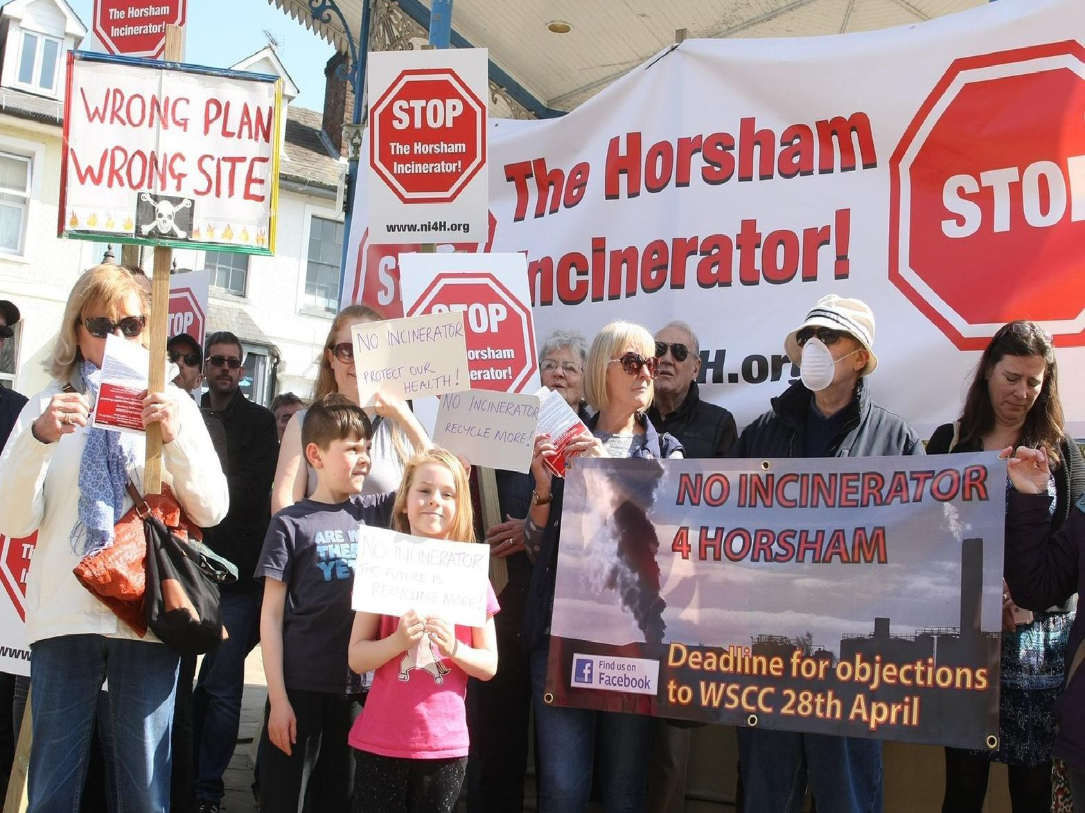 Campaigners battled plans to build an incinerator in Horsham