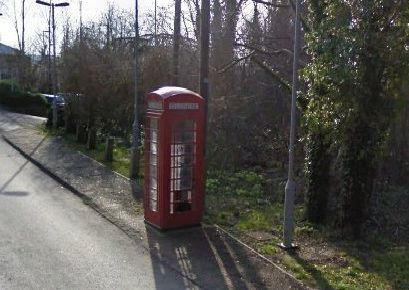 One of the phone boxes, in Amberley