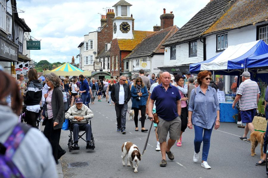 Fun for all at the Steyning Country Fair