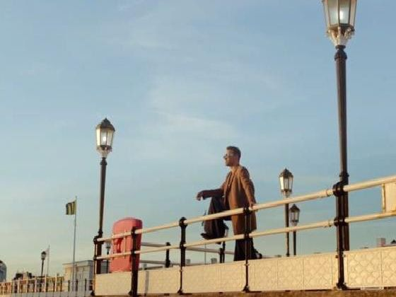 Will Young has released his music video filmed on Worthing Pier. Picture: YouTube