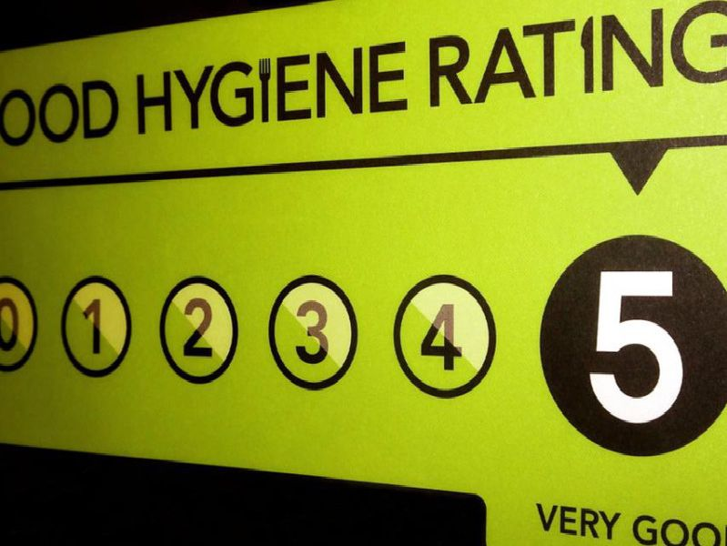 These are the takeaways in Horsham that have been given a five-star food hygiene rating by the Food Standards Agency