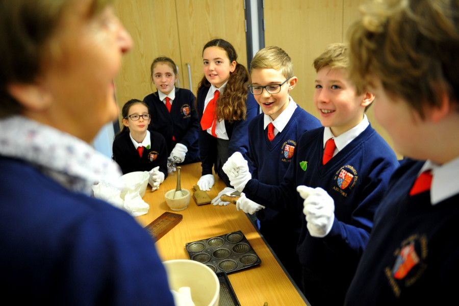 Kids in Museums Takeover Day, St Philip's Catholic Primary. Pic Steve Robards SR22111902