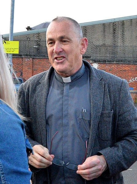 Fr Patrick Baker PP celebrated an anniversary Mass for the late Sammy Devenny on Wednesday evening last. Mr Devenny died after he was attacked, in his home, by members of the RUC 50 years ago. DER2919GS-033