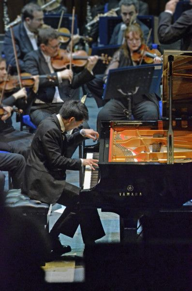 Russian pianist steals the show to win competition