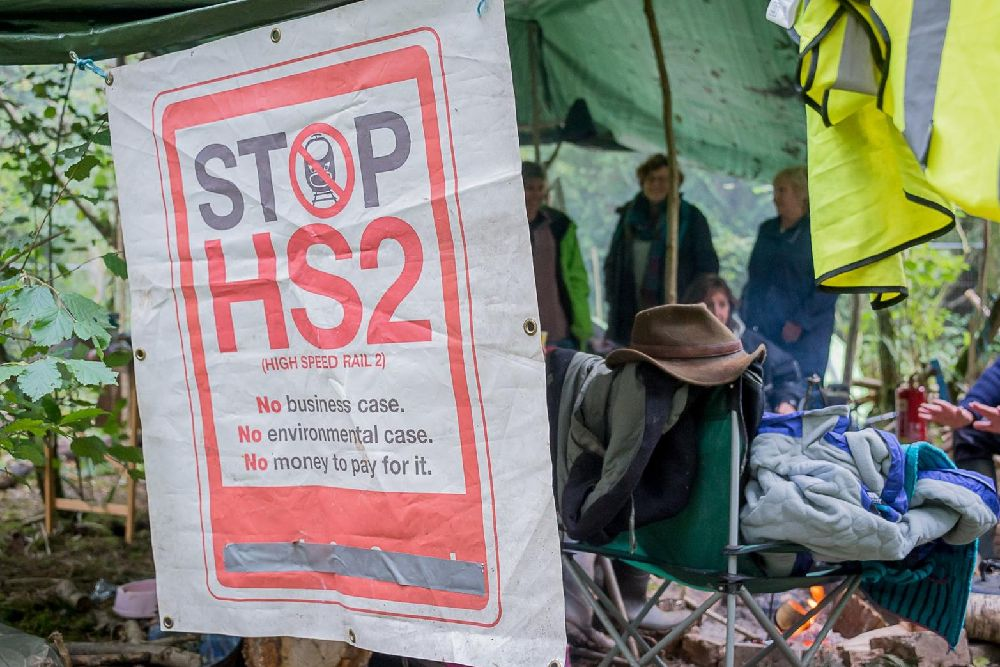 Image result for hs2 protest camp""