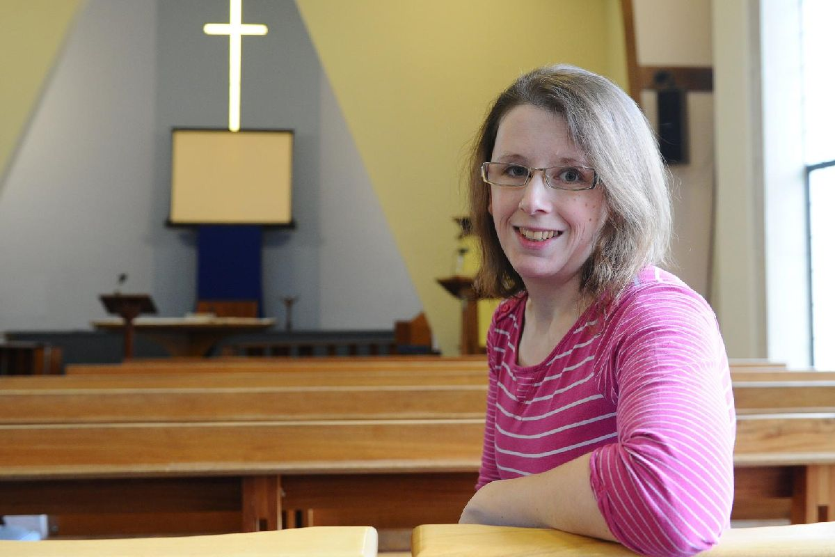 Vicky Duboc from Fareham, who is organising the Mother's Day Runaways service which will take place on Sunday, March 31 at St John the Evangelist Church in Fareham at 4pm.
