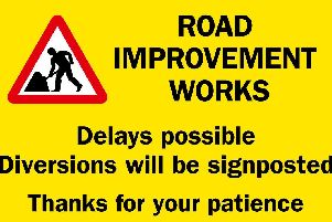 Road improvement works