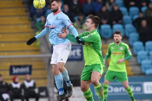 Jonathan McMurray has been placed on the transfer list by Ballymena United