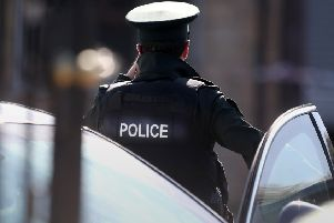 PSNI officer hurt after police car rammed