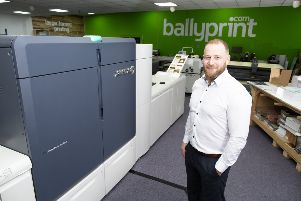 Aaron Klewchuk, owner and managing director of Ballyprint.