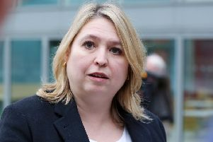 Karen Bradley MP. Pic: Kelvin Boyes / Press Eye