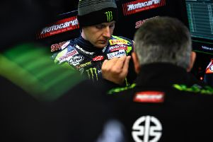 World Superbike champion Jonathan Rea qualified eighth fastest for the opening race at Assen on his Kawasaki.