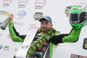 Glenn Irwin made it four Superbike race wins in a row at the North West 200.