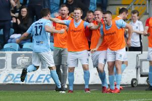 Andy McGrory is one of five Ballymena United players to sign a contract extension. 'Mandatory Credit � INPHO/Brian Little
