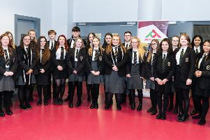 Ballymena schools celebrate Peace Pledge Tree installation