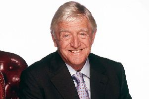 """FROM ITV''PARKINSON ''MICHAEL PARKINSON launches his brand new series on ITV1 this Autumn.''""""The undisputed King of the chat Show"""" is the doyen of interviews who allows his guests to shine.  Parkinson's recent guest include Clint Eastwood, Sir Sean Connery, Nicole Kidman, George Clooney, Halle Berry, Robin Williams, Gwyneth Paltrow, Mel gibson, tom Hanks, Jennifer Lopez, Woody Allen and Kevin Spacey.''Parkinson is also a showcase for the best music featuring exclusive performances from Robbie Williams, REM, Sir Paul McCartney, Alicia Keys, Sir Elton John, George Michael, Kylie Minogue, Jennifer Lopez, Sting and Annie Lennox.''Picture Shows - MICHAEL PARKINSON''Press contact: Debbie Wilson/Nikki O'Shea on 020 7261 8107/8105''Picture contact: Shane Chapman  or Hayley Chapman on 020 7633 2542"""