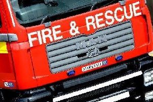 Man rescued from car after collision