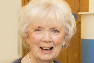 Co Antrim Lord Lieutenant Joan Christie who has been awarded a CVO