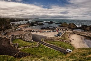 Ballintoy Harbour, Co. Antrim. (Photo: Tourism NI)