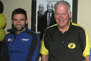 William Dunlop with Bill Kennedy