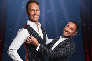 We can't 'Waite' to see the Ballroom Boys in action...