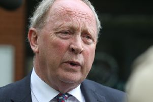Jim Allister was 'astounded' when told the weapons had not been systematically tested for DNA