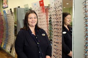 Specsavers Coleraine director, Judith Ball