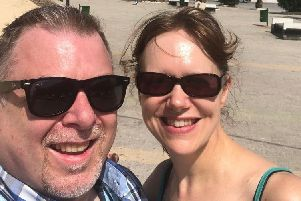 Paul and Gail Dunn, who live in Cullybackey, were caught up in a stand-off in their Tunisian Hotel and are keen to get back home.