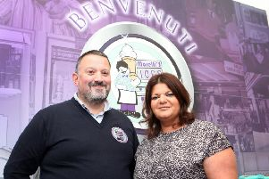 Pictured is Arnaldo Morelli, who heads up the family business from its headquarters on the North Coast and Daniela Morelli, Sales and Marketing Director.