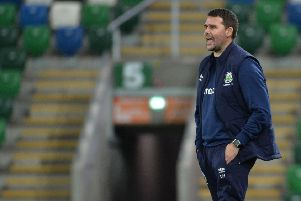 Linfield Manger David Healy. Photo Colm Lenaghan/Pacemaker Press