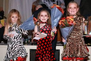 The overall winners of the junior category were Rubi, Sofie and  Jessica who performed a samba to 'Whats my name'