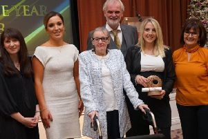 The Children's Early Intervention Services in Northern Trust were the winners of a Learning and Development Team Award at the Social Work Awards