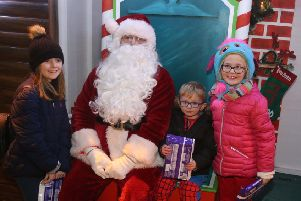 IN PICTURES: Ballycastle Christmas lights switch-on