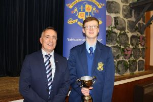 Matthew McGowan of Loreto College, who is shortlisted for a 2019 British'Education Award