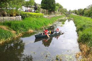 The canal at Scarva. (file photo)