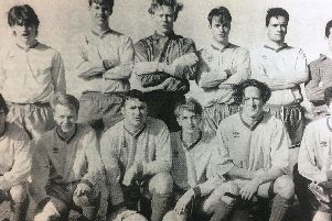 Dromore Amateurs team pictured in 1992