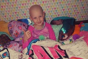 Little Elsa McBurney has received positive news about her cancer fight.